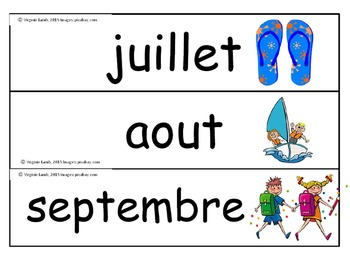 calendrier (script) - calendar