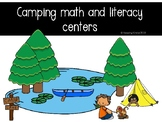 camping letter and number games