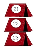 camping wall number cards #'s 21-30