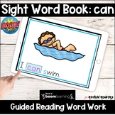 can Sight Word Book BOOM Cards Distance Learning