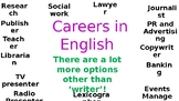 careers in english display
