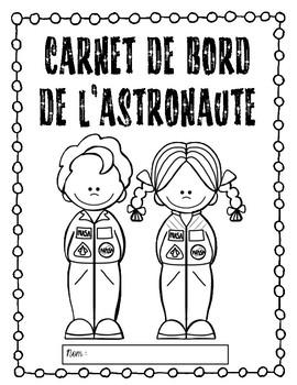 carnet de bord de l'astronaute