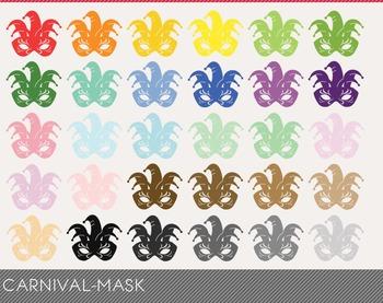 carnival-mask Digital Clipart, carnival-mask Graphics, carnival-mask PNG