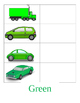 cars themed color matching  activity