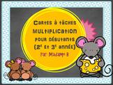 carte à tâches multiplication