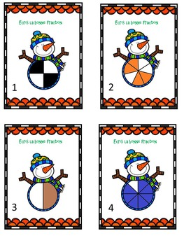 cartes à tâche fraction