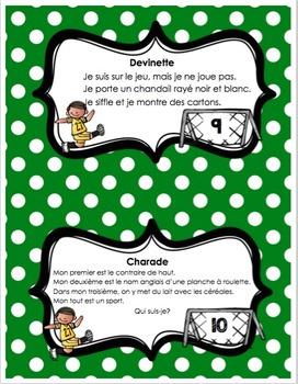 cartes à tâches 2e année français