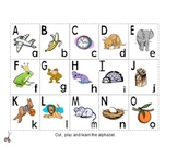 cartes d'alphabet