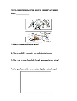 funny science cartoons and worksheets