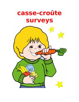 cassecroute surveys FRENCH