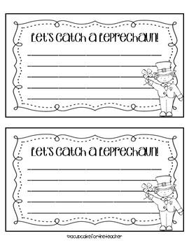 How to Catch a Leprechaun Writing Craft