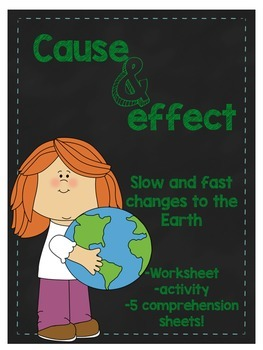 Fast and slow changes teaching resources teachers pay teachers cause and effect fast and slow changes to the earth sciox Gallery