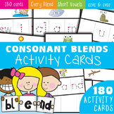 Blends Write and Wipe Cards - Phonics - Consonant Blends c