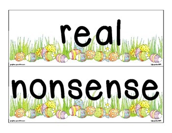 ccvc sorting_real or nonsense_easter egg theme