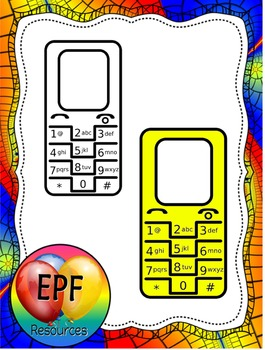 cell phone clip art (free)
