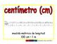 centimeter/centimetro meas 2-way blue/rojo