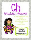 /ch/ Articulation Notebook