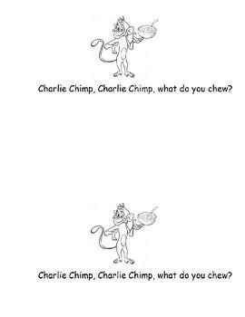 ch Charlie Chimp Phonogram Early Emergent Reader Book