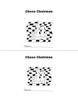 ch Chess Chairman Phonogram Early Emergent Reader Book