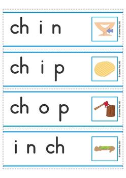 Digraph CH: Phonics Word Work {Multiple Phonograms}