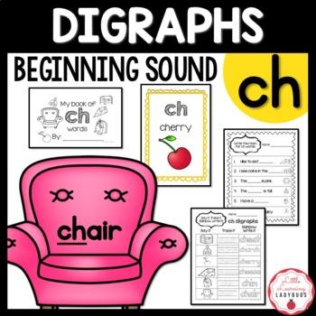 Beginning /ch/ Digraph Pack