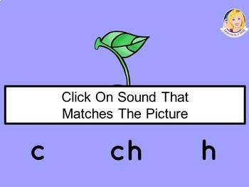 ch Digraph Picture Sort in a Snap