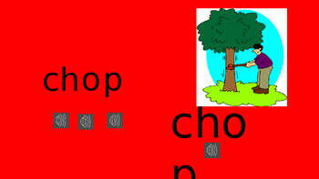 ch and tch words powerpoint