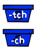 ch or tch? Recycling Themed Activity/Literacy Center Orton-Gillingham