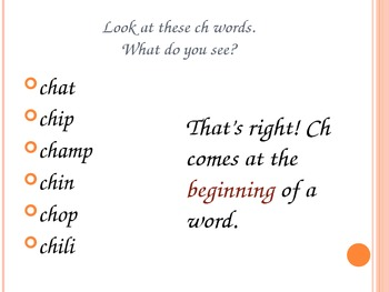 ch phonics rule sounds ppt or flipchart