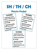 Phonics Packet: ch/ sh/ th words