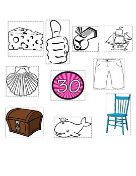ch, th, sh and wh picture sort