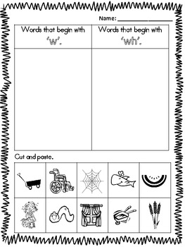 ch, wh, th, sh, digraph bundle