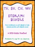 ch, wh, th, sh, digraph bundle
