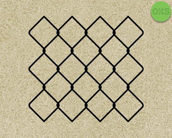 chain link fence SVG cut files, DXF, vector EPS cutting file instant download