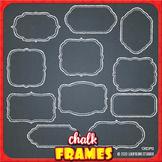 chalkboard clip art frames with transparent backgrounds