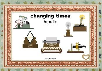 changing times - bundle (victorian era)