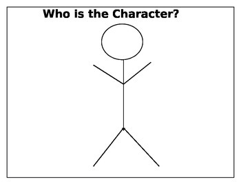 character graphic organizers differentiated
