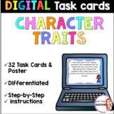 Character traits for Google Classroom  -Inferring - For Di