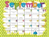 Character Traits by the Month