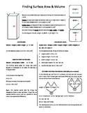 cheat sheet for geometry teaching surface area and volume with new methods