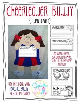 Cheerleader Buddy {a Craftivity}