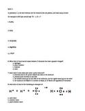 chemical formula and ionic bonding quiz (quiz 5)