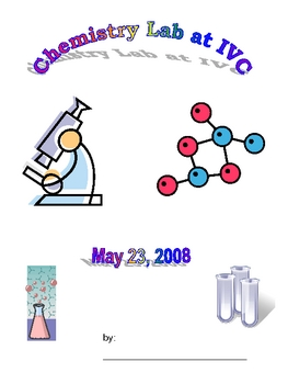 chemistry lab notetaking form for a fieldtrip