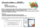 cherche lettres Hiver