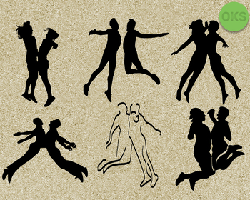 chest bump SVG cut files, DXF, vector EPS cutting file instant download
