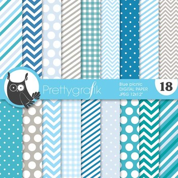 chevron mix patterns digital paper, commercial use, scrapbook papers - PS629