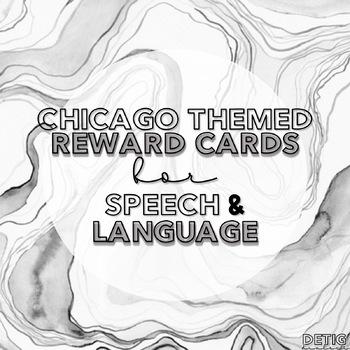 chicago sports speech & language punch reward cards
