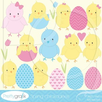 chick bird clipart commercial use, vector graphics, digital clip art - CL510