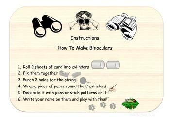 child-friendly instruction cards set MAKE IT MYSELF for DT/ art/ craft area