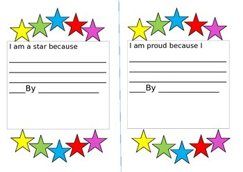 child initiated star moments sheet